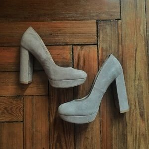Cute taupe heel by Qupid size 8.5